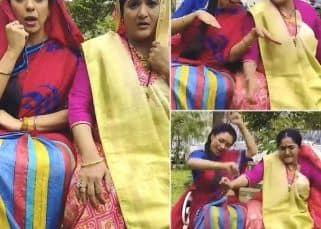 Anupamaa के सेट पर Rupali Ganguly को याद आया 'बचपन का प्यार', देखें वीडियो