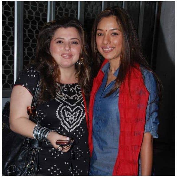 Rupali Ganguly and Delnaaz Irani