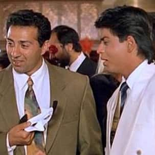 Throwback: Sunny Deol got so angry while shooting for Darr that he ripped his pants and didn't speak to Shah Rukh Khan for 16 years – know why
