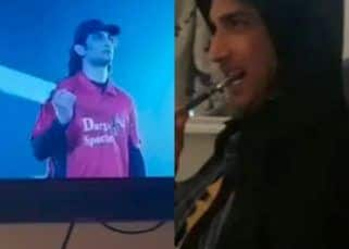Throwback: When the real Sushant Singh Rajput watched MS Dhoni at home and cheered for his reel avatar – watch video