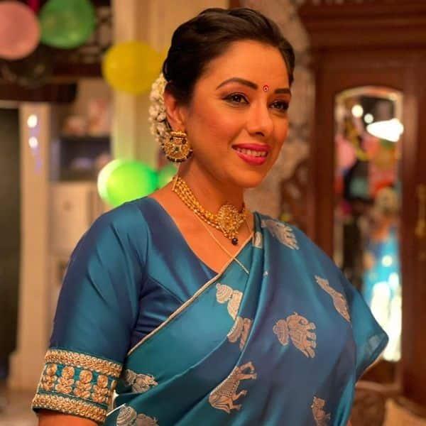 Rupali Ganguly as Anupamaa in Anupamaa