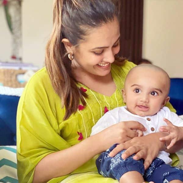 अनीता हसनंदानी (Anita Hassanandani) ने बेटे को कहा 'गुंडा'