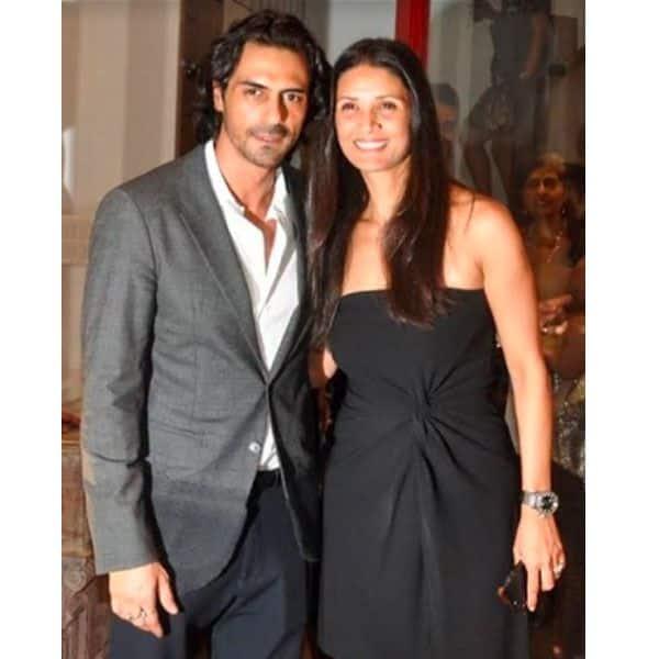 अर्जुन रामपाल और मेहर जेसिया  (Arjun Rampal and Mehr Jesia)