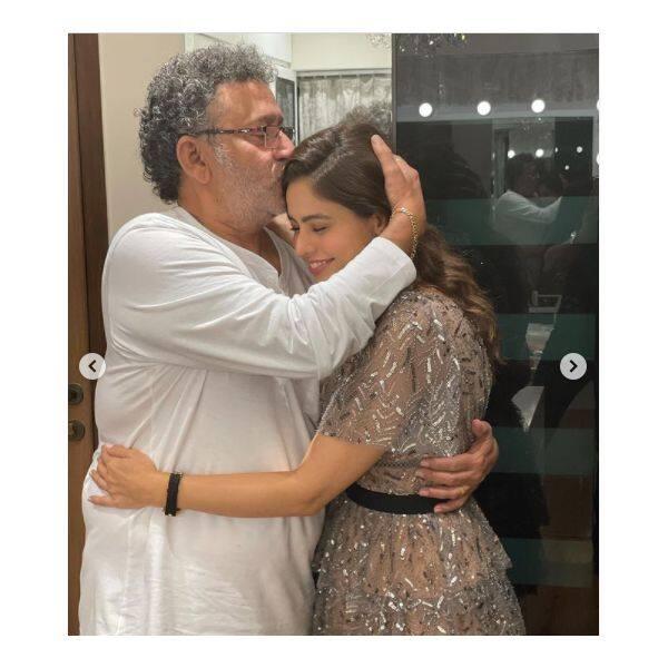 आमना शरीफ (Aamna Sharif) से मिलने पहुंचे ऑनस्क्रन ससुरजी