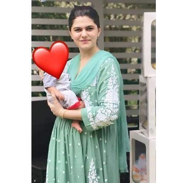मार्च 2021 में जेबा खान (Zeba Khan) ने दिया है बेटे को जन्म