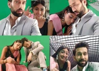 Throwback: Ishqbaaaz actors Surbhi Chandna-Nakuul Mehta aka Anika-Shivaay's BTS pictures from the sets make us miss them even more