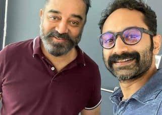 Vikram: Fahadh Faasil selfie with Kamal Haasan takes the social media by storm; fans caption it 'Velu Nayakkar meets Ali Ikka'