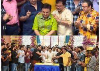 Taarak Mehta Ka Ooltah Chashmah: Dilip Joshi, Mandar Chandwadkar, Asit Kumarr Modi and others celebrate 13 years of the show – view pics