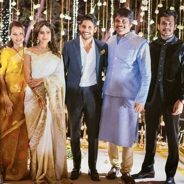 धूमधाम से रचाई थी नागार्जुन ने बड़े बेटे की शादी