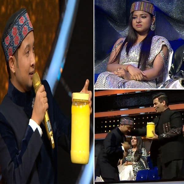 इंडियन आइडल 12 (Indian Idol 12) के मंच पर पवनदीप राजन (Pawandeep Rajan) लाए गिफ्ट