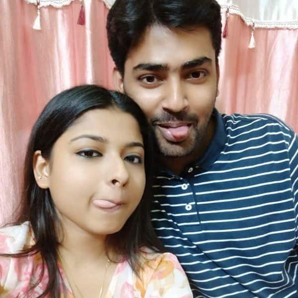 भाई पार्थ के साथ अरुणिता कांजीलाल (Arunita Kanjilal)