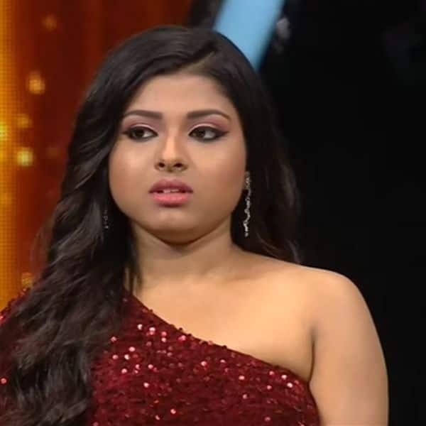 नर्वस दिखीं अरुणिता कांजीलाल (Arunita Kanjilal)