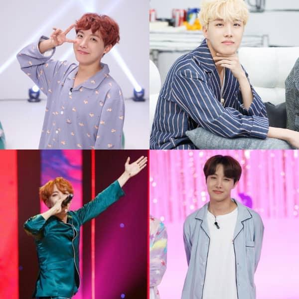 BTS' J-Hope aka Jung Hoseok in pyjamas