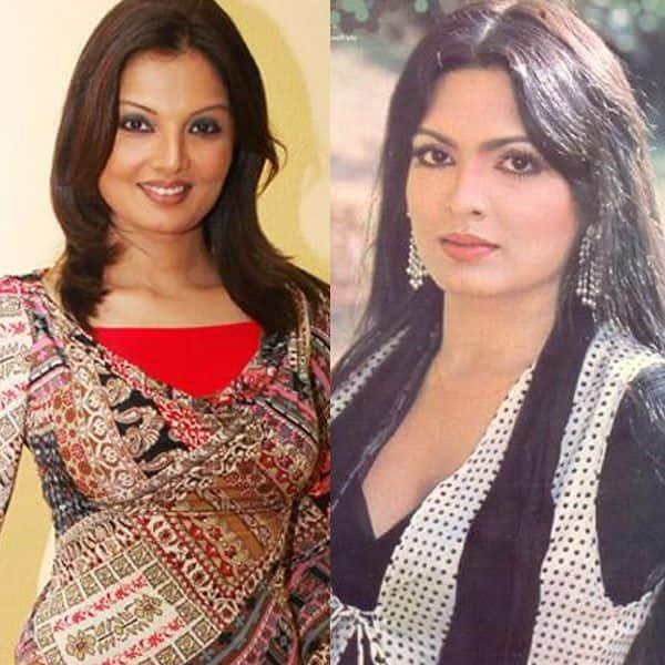 Deepshikha Nagpal and Parveen Babi