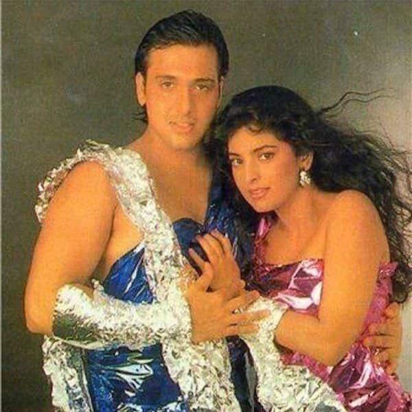 Govinda and Juhi Chawla