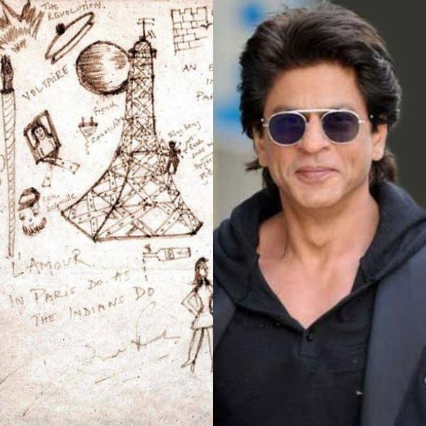 Shah Rukh Khan- Doodle Painting