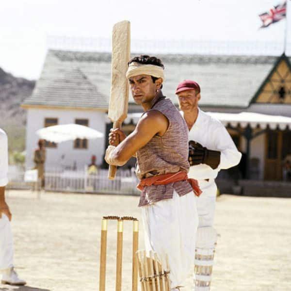 Aamir Khan - Bat from Lagaan film