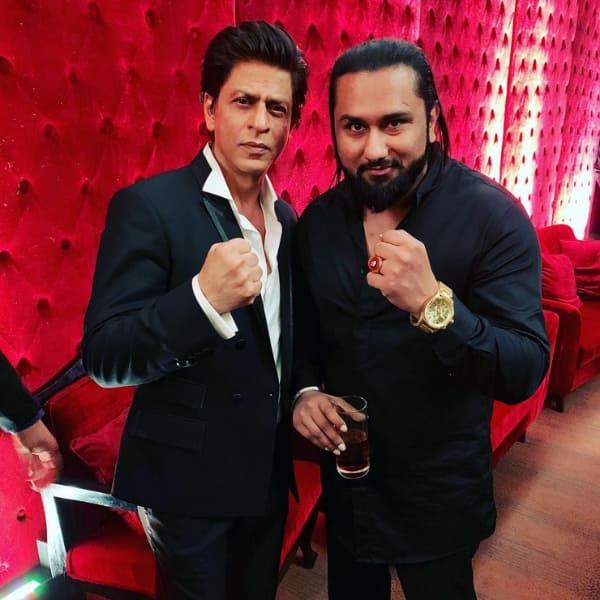 Yo Yo Honey Singh and Shah Rukh Khan feud