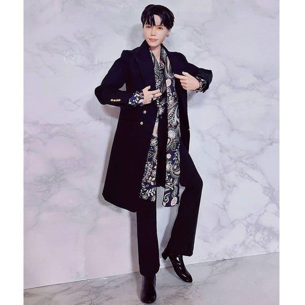 BTS' J-Hope being a model