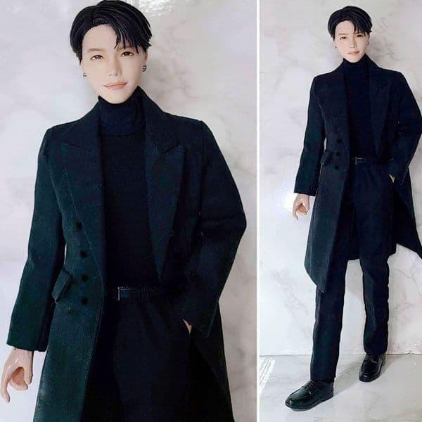 BTS' J-Hope in all black