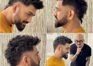Monday Memes: MS Dhoni's faux-hawk hairstyle becomes a rage unleashing hilarious reactions on social media