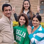 Rubina Dilaik Shares Adorable Invisible Family Photos While Wishing Parents On Their 35th Wedding Anniversary
