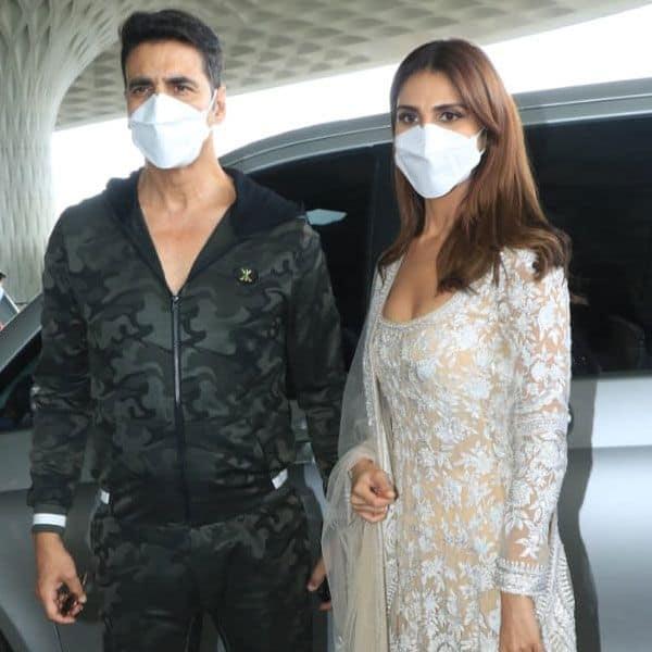Akshay and Vaani Kapoor posed together