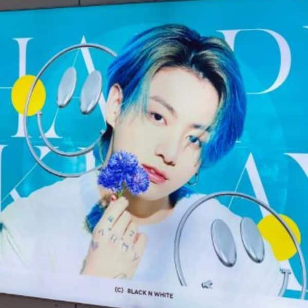 Busan celebrates the birthday boy