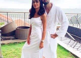 Bigg Boss OTT: Zeeshan Khan's Kumkum Bhagya co-star Sriti Jha loves his bathrobe avatar and this video is proof