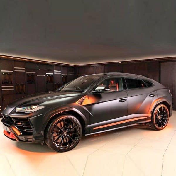 Lamborghini Urus Graphite Capsule model