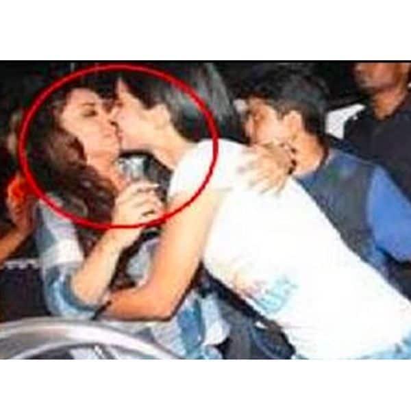 Katrina kissed Rani Mukerji on her lips