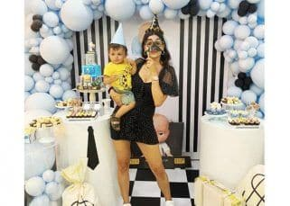 Natasa Stankovic and Hardik Pandya's son Agastya turns one; check out pics from The Boss Baby themed celebrations