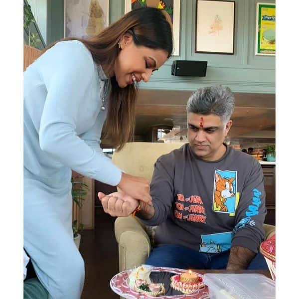 Nia Sharma with Siddharth P Malhotra 2