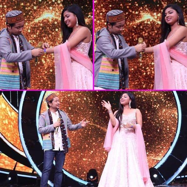इंडियन आइडल 12 (Indian Idol 12) के मंच पर Pawandeep-Arunita ने मनाया फ्रेंडशिप डे