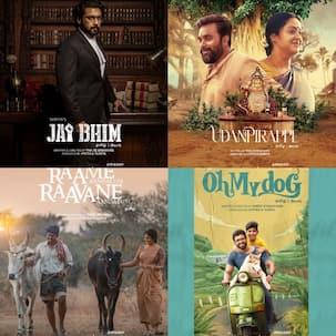 Jai Bhim, Udanpirappe, Oh my doG, Raame Aandalum Raavane Aandalum – 4 Tamil movies by Suriya, starring Prakash Raj, Arun Vijay and others set to premiere on OTT on THESE DATES