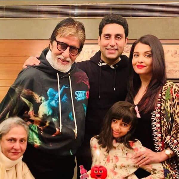 Amitabh Bachchan का फैमिली ग्रुप