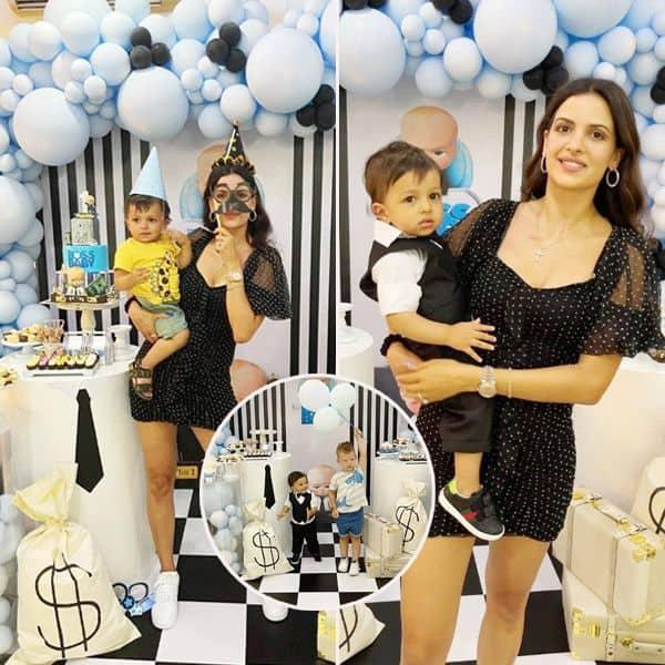 नताशा स्टानकोविक (Natasa Stankovic) ने मनाया अपने बेटे अगस्त्य (Agastya) का पहला जन्मदिन