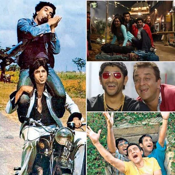 दोस्ती की दास्तान सुनाती हैं बॉलीवुड फिल्में