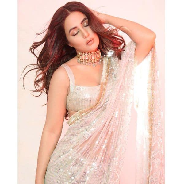Hina Khan slays in Manish Malhotra