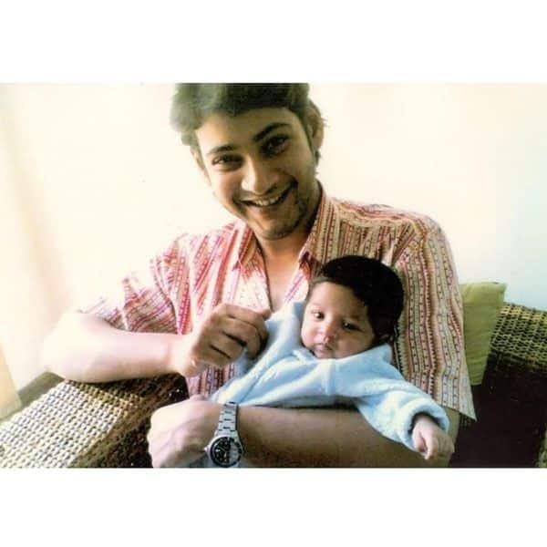 Mahesh Babu with his Doraemon