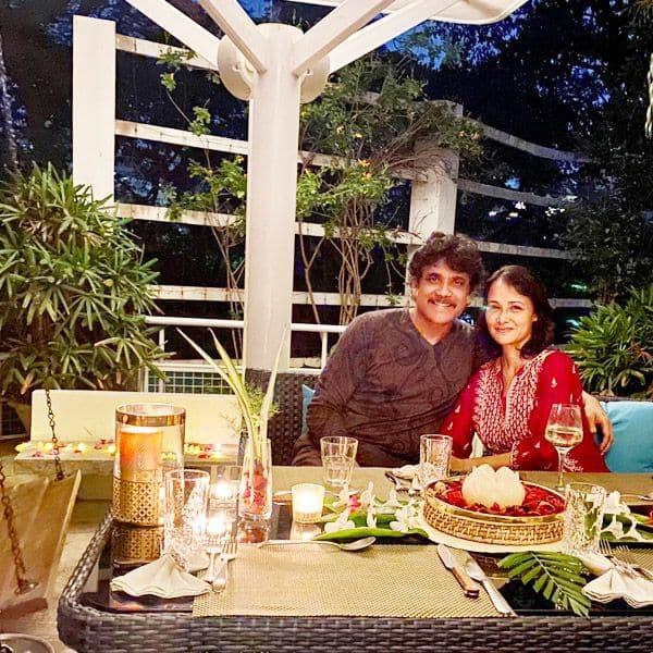 आमला अक्किनेनी है नागार्जुन की दूसरी पत्नी