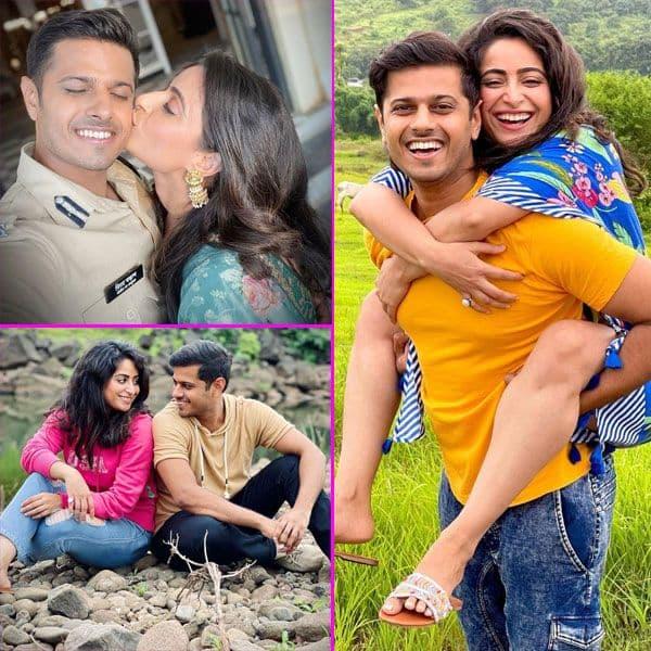 Neil Bhatt और Aishwarya Sharma सेट पर करते हैं खूब मस्ती