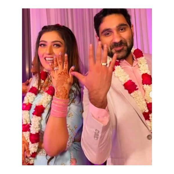 Shireen Mirza gets engaged