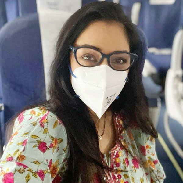 काफी खुश दिखीं Rupali Ganguly