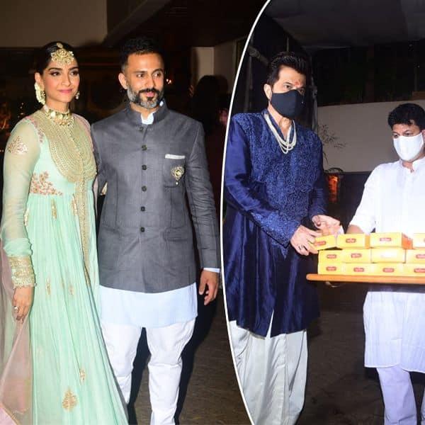 बहन रिया की शादी के बाद सोनम कपूर ने दिए पोज