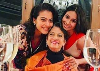 Kajol ने फिल्मी अंदाज में मनाया अपनी मॉम Tanuja का बर्थडे, देखें जश्न की इनसाइड फोटोज