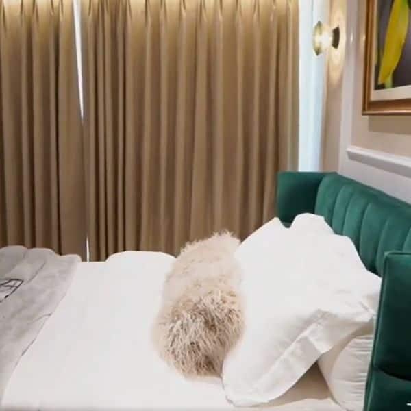 कंफर्टेबल है बेडरुम