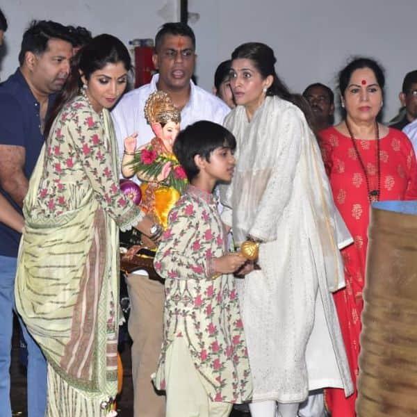 शिल्पा शेट्टी ने लगाई बप्पा से अरदास