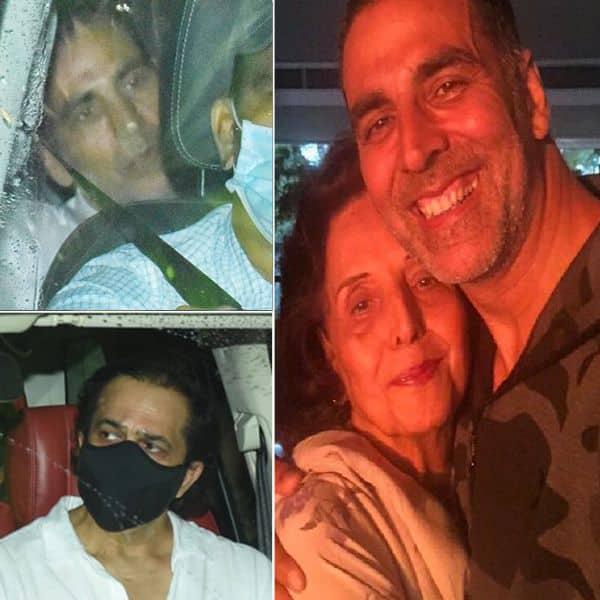 अक्षय कुमार (Akshay Kumar) की मां को अंतिम विदाई देने पहुंचे सितारे