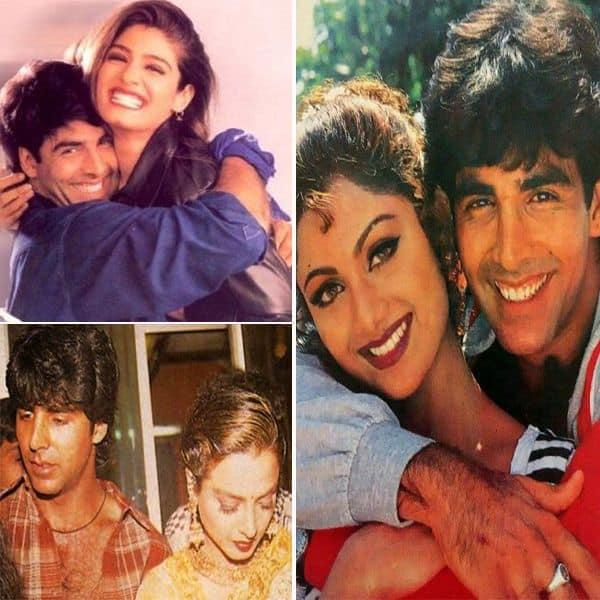 इन एक्ट्रेसेस के साथ रहा अक्षय कुमार (Akshay Kumar) का रिश्ता